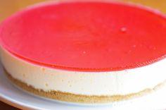 Ostekake med gelélokk | Det søte liv