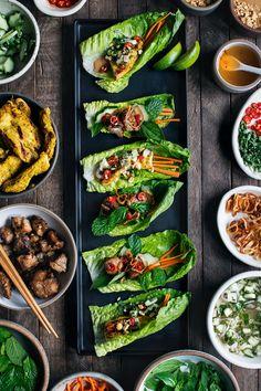 Chicken Satay Lettuce Wraps | HonestlyYUM (honestlyyum.com)