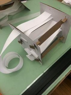 Second iteration of the sewing paper. Addition of supporting bar. #48105