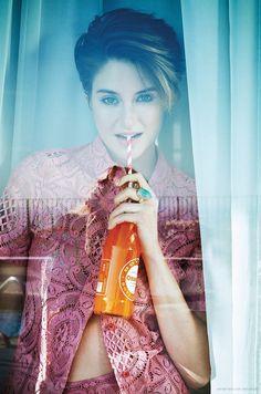 Shailene Woodley by Mary Rozzi