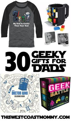 If you've got a geek dad in your life – a Star Wars vs. Star Trek debating, science fiction reading, fantasy movie watching, comic book collecting, video game playing, science loving dad – this gift guide is for you.