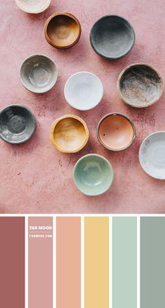 Color Palette For Home, Color Schemes Colour Palettes, Pastel Colour Palette, Colour Pallette, Nature Color Palette, Paint Colors For Home, Color Palette Green, Kitchen Color Palettes, Orange Color Schemes