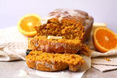 Vanilla Glazed Pumpkin Cider Sweet Bread - Drool-Worthy