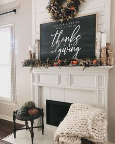 Fall decorating ideas for your mantel Thanksgiving Decorations, Seasonal Decor, Holiday Decor, Turkey Decorations, Thanksgiving Mantle, Thanksgiving Ideas, Holiday Ideas, Fall Home Decor, Autumn Home