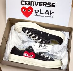 Converse Play Comme des Garçons