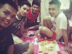 with my friend dewantoro kost