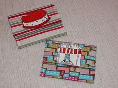 Ice Cream Shoppe Teeny Pocket Set of Two by joliefemmebydiana