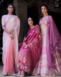 Shades of love infused with the classic gota pati, zardosi and resham embroidery placed onto exquisite fabrics. Find your favorite summer… Call/WhatsApp for more details Purchase Indian Attire, Indian Ethnic Wear, India Fashion, Asian Fashion, Indian Designer Outfits, Designer Dresses, Indian Dresses, Indian Outfits, Pakistani Outfits