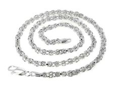 """Sterling Silver 16"""" Inch Byzantine 3mm Chain Necklace Silver Insanity. $59.97. Marked .925 Italy. 16"""" Long and 3mm Wide. Made in Italy. Weight is 11.2 Grams. Byzantine Link Chain"""