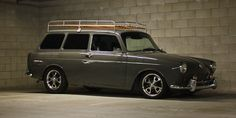 Mean and clean squareback.