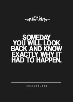 """Meant to be is even true in the future. 