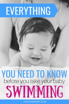 Everything You Need To Know About Taking Your Baby Swimming - Baby info - Happy Baby Baby Pool, Baby Swimming, Swimming Tips, Baby Supplies, After Baby, Summer Activities For Kids, Baby Development, First Time Moms, Everything Baby