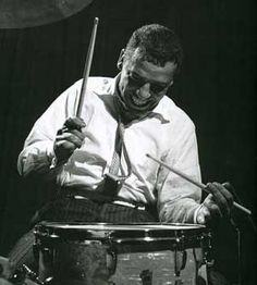 Buddy Rich, one of the greatest drummers of all time. He was apart of the Big Band: Post War Jazz era.
