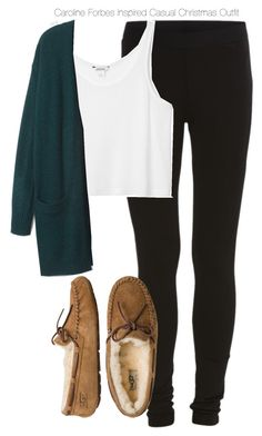 """The Vampire Diaries - Caroline Forbes Inspired Casual Christmas Outfit"" by staystronng ❤ liked on Polyvore"