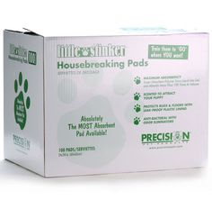 """Original Little Stinker Housebreaking Pads, 100 ct   (ITEM #B1EP) Our Price  $32.95     Regular  $39.99 Little Stinker Housebreaking Pads are absorbent, disposable pads that can simplify the housebreaking process for puppies and stay-at-home dogs. 24"""" x 24"""", 100 ct."""