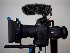 dslr video set up