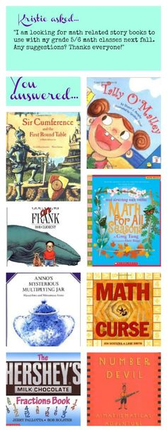 Math story books!