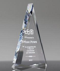 Choose our handsome Encore Diamond Acrylic Award to recognize top performance. Recognition Awards, Employee Recognition, Employee Awards, Acrylic Awards, Trophy Design, Picture Design, State Art, Laser Engraving, Cleaning Supplies