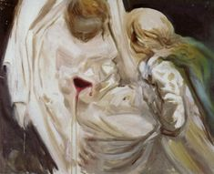 Salvador Dali - Pieta (oil on canvas, 1983)