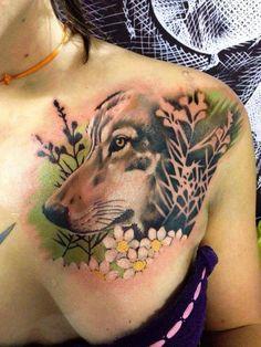 52 Wolf Tattoo