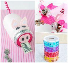 Money Box, Mason Jars, Creative, Saving Money Jars, Piggy Bank, Gift Money, Money Bank, Canning Jars, Glass Jars