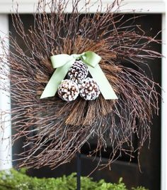 Twig & Pinecone Wreath at Joann.com
