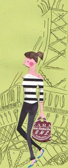 Amelia's compendium of Fashion Illustration - Emma Block Illustration