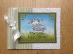 Easter Lamb by Dolly Watt - Cards and Paper Crafts at Splitcoaststampers