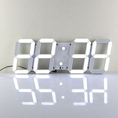 Chihai Remote Control Jumbo Digital Led Wall Clock(white Shell White Digital) Chihai http://www.amazon.com/dp/B00XMC3G3G/ref=cm_sw_r_pi_dp_4F22wb0J03XXA