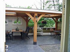 plat dak met lichtdoorlaat