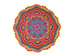 Crochet Mandala Madness Parte 8 paso a paso en español