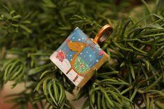 Holiday Scrabble Tile pendant