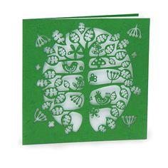 laser cut card from Alljoy Design