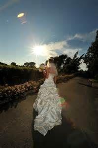 Bride at Sunset.