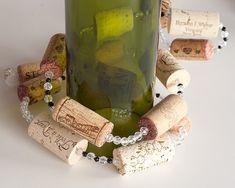 Wine Cork Garland wine cork decoration  by MaxplanationPhotos