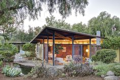 (SBMLS) For Sale: 3 bed, 2 bath, 1600 sq. ft. house located at 1320 Carne Rd, Ojai, CA 93023 on sale for $1,119,000. MLS# 15-1371. One of the best priced properties in the Exclusive East End of Ojai. This... Mid Century House, Home And Family, Exterior, House Design, Cabin, Bath, Architecture, House Styles, Building