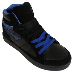 1da629a5eb8 Mens Hi Top Baseball Boot Trainers Ankle Skate Shoe Basketball Style  Trainer  Amazon.co.uk  Shoes   Bags