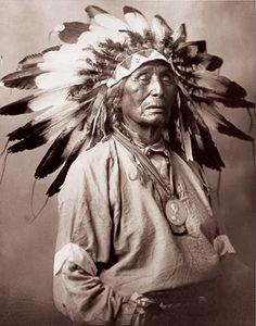Chief Red Arrow, Lakota