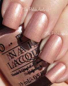OPI - A Butterfly Moment (Mariah Carey Collection Spring 2013 - 'Studio Shades') / ThePolishAholic Great Nails, Cool Nail Art, Opi Pink, Nail Envy, Manicure And Pedicure, Manicure Ideas, Pedicures, Opi Nails, Nail Tips