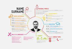 free eps file creative resume template design vectors