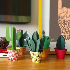 Coleção 5 Paper Cactus - Na Casa da Joana