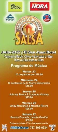Congreso Mundial de la Salsa 2013 @ Hotel San Juan Resort & Casino, Isla Verde #sondeaquipr #congresomundialsalsa #sanjuanresortcasino #islaverde #carolina #salsa