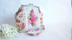 Embroidery Purse, Drawstring Pouch, Fashion Backpack, Needlework, Coin Purse, Backpacks, Purses, Wallet, Bags