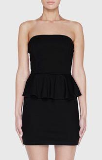 basic black cute dress
