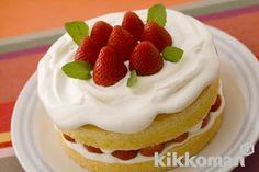 いちごのショートケーキ ,strawberry fancy cake