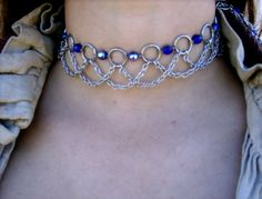 [chainmaille choker] need to make one of these too.