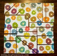 One Sheet Wonder - No waste, lots of cards by lorie