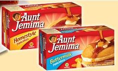 Use this $1/2 Aunt Jemima Breakfast coupon to save on your mornings!
