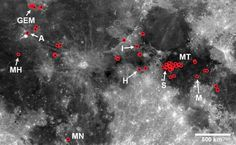 Do volcanoes still erupt on the Moon? Dozens of locations look like lava has flowed from the lunar mantle within the past 50 to 100 million years.