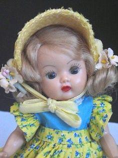 "Nancy Ann Storybook Muffie Doll, 8"" HP Strung SWEET!!"
